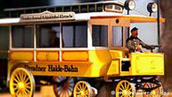 Deutschland Verkehr Bahn Modell im Verkehrsmuseum Dresden