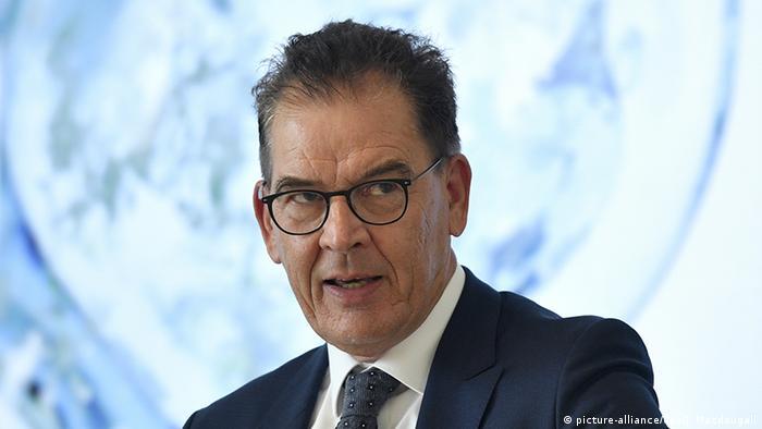 Pressekonferenz zur Wasserstoffstrategie Müller