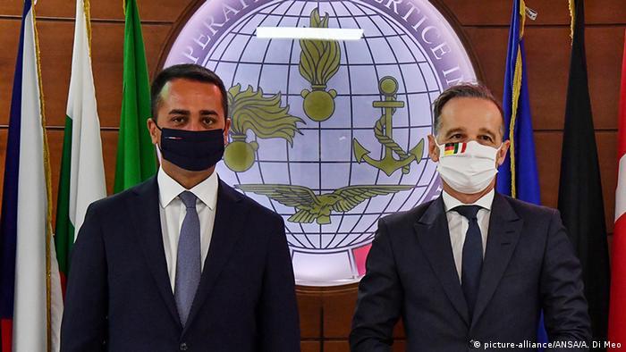 Italiens Außenminister Luigi di Maio und Bundesaußenminister Heiko Maas