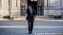 Italien Premierminister Guiseppe Conte