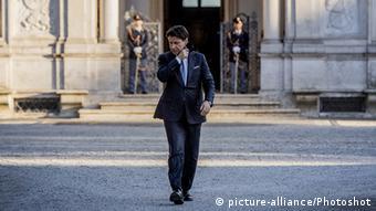 Τη Δευτέρα ο Τζουζέπε Κόντε θα επισκεφθεί τη γερμανίδα καγκελάριο