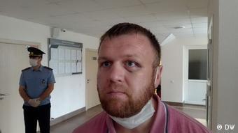 Журналист независимого издания Ганцевичский час Александр Позняк