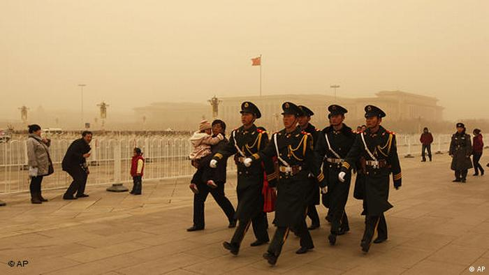 Flash-Galerie Sandsturm in China Peking