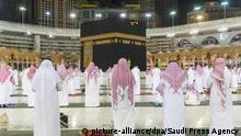 Tarawih-Gebete in Mekka