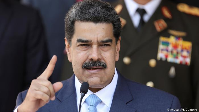 enezuela's President Nicolas Maduro speaks during a news conference at Miraflores Palace in Caracas