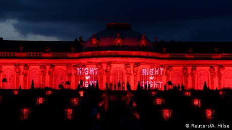 BdTD Deutschland Night of Light in Potsdam (Reuters/A. Hilse)
