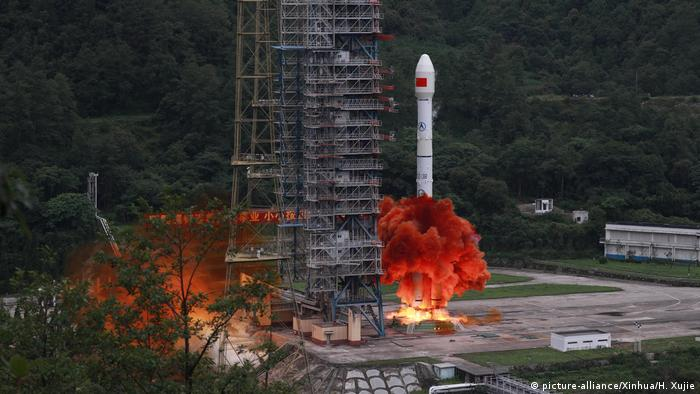 A rocket carrying the last satellite of the BeiDou Navigation Satellite System (BDS) blasts off from the Xichang Satellite Launch Center in southwest China's Sichuan Province