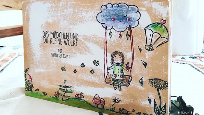 Книга Девочка и маленькое облако