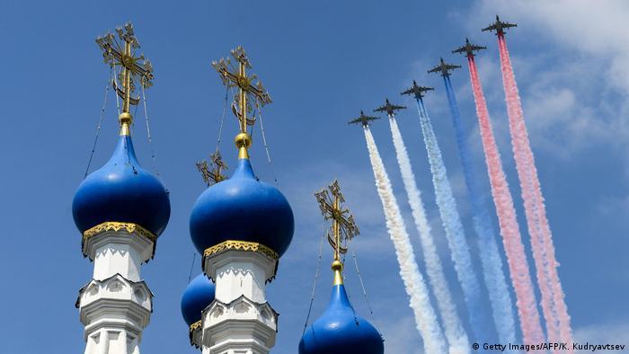 Russland Moskau Siegesparade 2020 (Getty Images/AFP/K. Kudryavtsev)