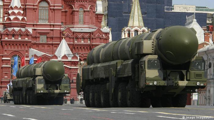 Russland Moskau Siegesparade 2008 (Imago Images/UPI)