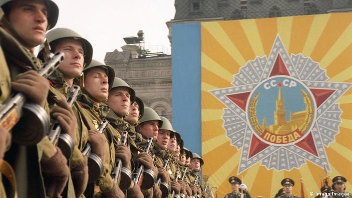 Russland Moskau Siegesparade 1995 (Imago Images)