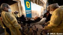 Medizinischer Notfalldienst gegen Covid-19 in São Paulo Datum: 22.06.2020 Copyright: Gustavo Basso/DW