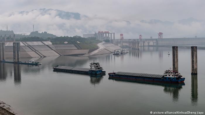 Hochwasser in China (picture-alliance/Xinhua/Zheng Jiayu)