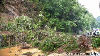 Hochwasser in China (picture-alliance/dpa)