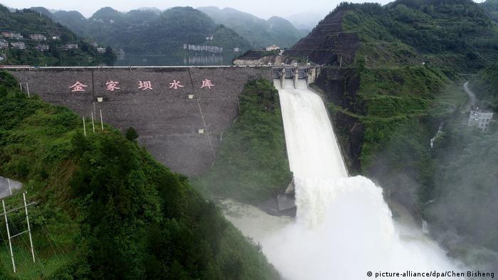 Hochwasser in China (picture-alliance/dpa/Chen Bisheng)