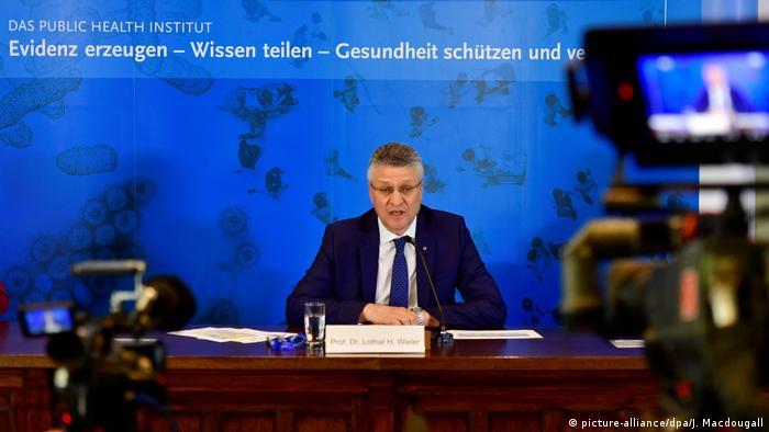 Konferencija za novinare direktora Instituta Robert Koch Lothara H. Wielera