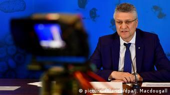 Лотар Вилер на пресс-конференции