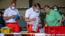 Deutschland | Coronavirus | Lockdown Gütersloh | Rheda-Wiedenbrück