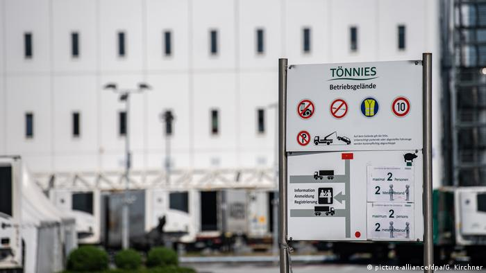 More than 1,500 workers were infected with coronavirus at Tönnies meat processing plant.