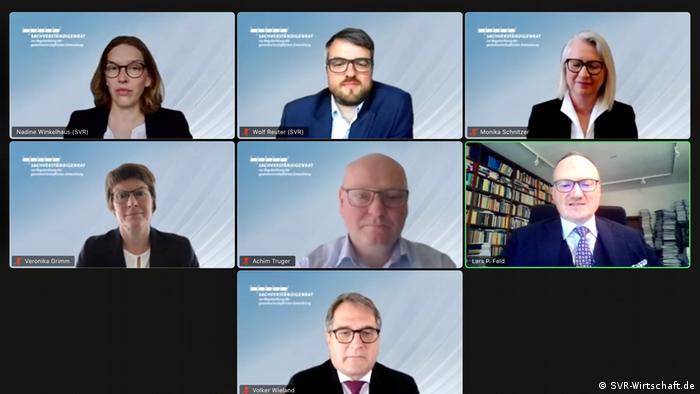 Virtuelno savetovanje nemačkih ekonomskih eksperata