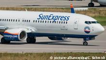 Deutschland SunExpress stellt Flugbetrieb ein