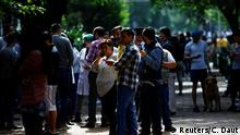 Mexiko Stadt | Erdbeben |Menschen auf der Straße