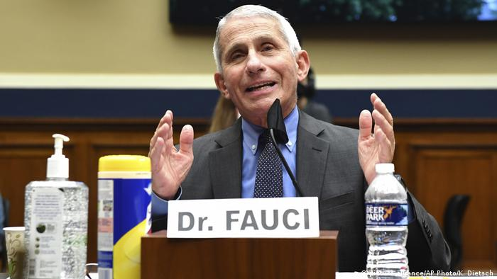 USA Dr. Anthony Fauci (picture-alliance/AP Photo/K. Dietsch)