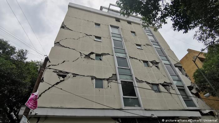 Mexico City Erdbeben (picture-alliance/Zuma/El Universal)