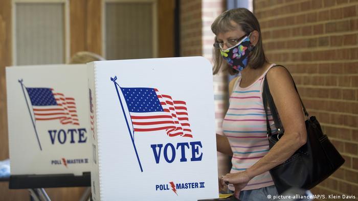 USA Vorwahlen Primaries Virginia Republikaner (picture-alliance/AP/S. Klein Davis)
