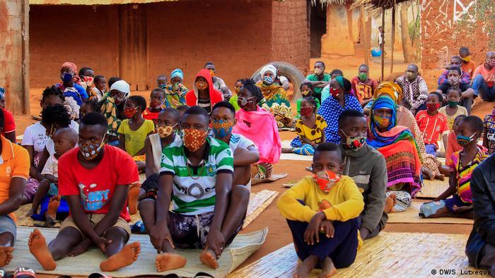 Deslocados de Cabo Delgado - fotografia de arquivo
