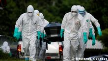 Coronavirus Bestattung der Toten in El Salvador