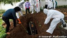 Coronavirus Bestattung der Toten in Indien