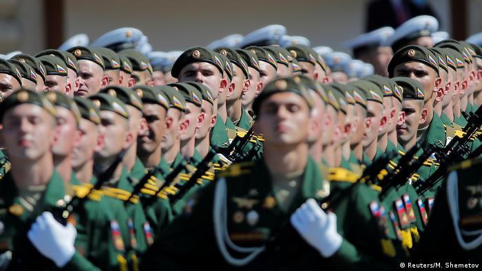 Russland Moskau Siegesparade 2020