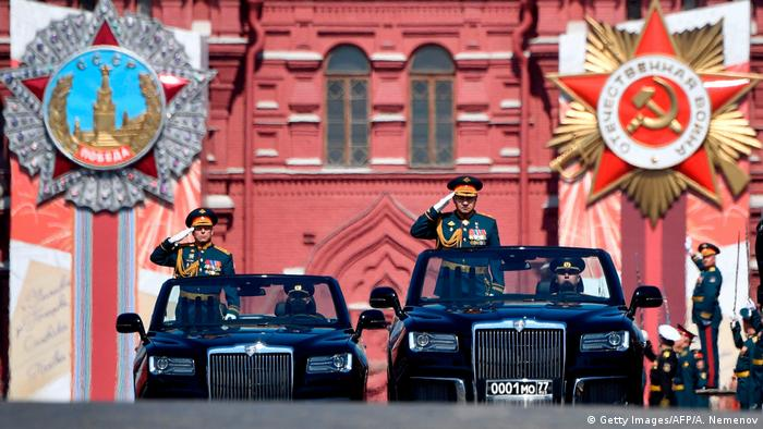 Russland Moskau Siegesparade 2020 (Getty Images/AFP/A. Nemenov)