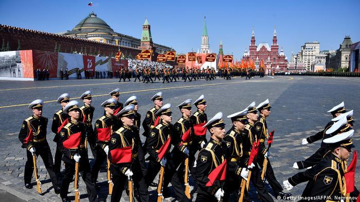 Russland Moskau Siegesparade 2020 (Getty Images/AFP/A. Nemenov)