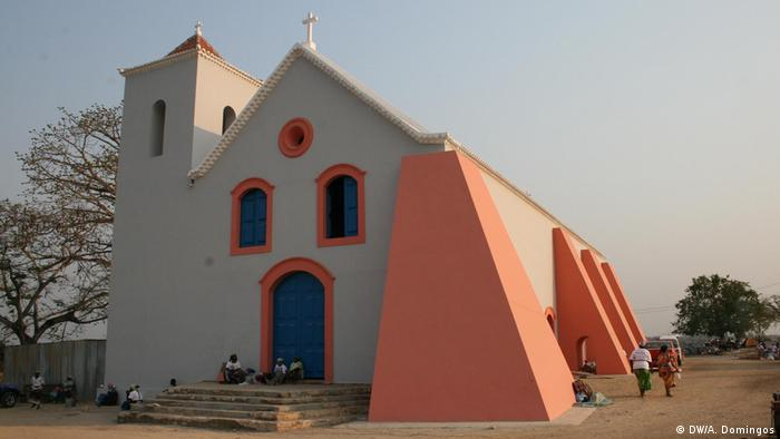 Angola Cuanza Norte | Lady of Victories Kirche in Massangano (DW/A. Domingos)