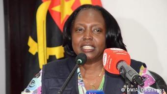 Angola | Gesundheitsministerin Silvia Lutucuta