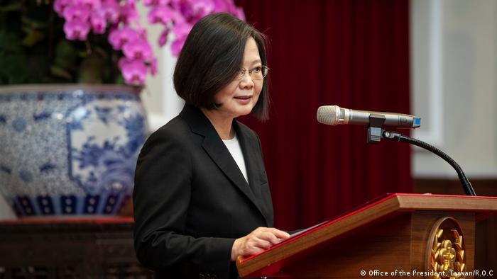 Taiwans Staatschefin Tsai Ing-wen (Foto: Office of the President, Taiwan/R.O.C)