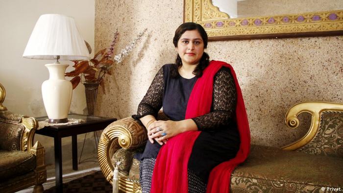 DW Urdu Blogerin Sabahat Khan