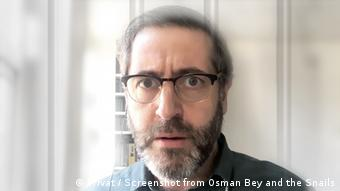 Screenshot von Robert Rice from the digital opera Osman Bey and the Snails by Opera Circus
