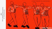 Balkan Booster Karikatur Corona-Tanz auf dem Balkan EN