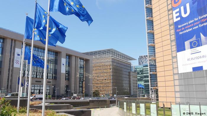 Штаб-квартра Евросоюза в Брюсселе