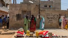 Coronavirus | Senegal Lebensmittel-Spenden