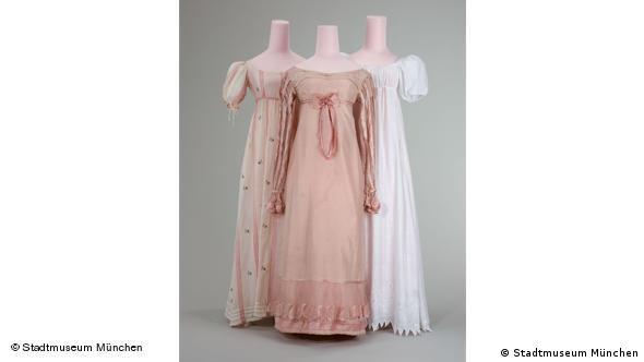Дамские наряды, 1805 - 1820 г.г.