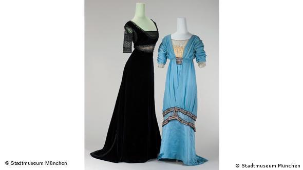 Вечерние платья. Слева - 1912 г., справа - 1913 г.