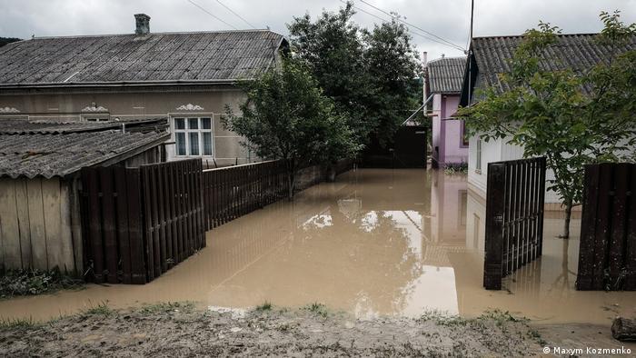 Затоплені п'ять областей