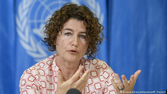 Schweiz   Manuela Tomei   IAO Report zu Pflegearbeit (picture-alliance/Keystone/M. Trezzini)