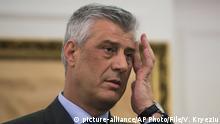 Kosovo | Präsident Hashim Thaci wegen Kriegsverbrechen angeklagt