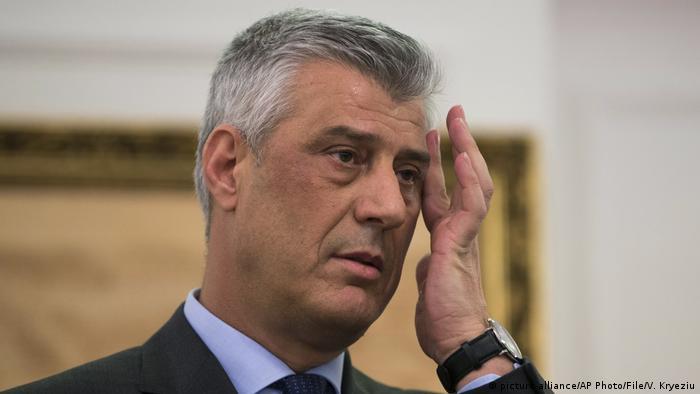 Predsednik Kosova Hašim Tači suočava se sa optužnicom za ratne zločine