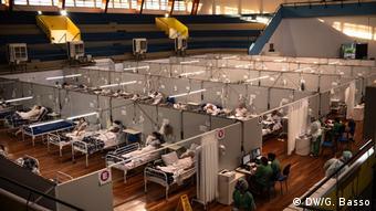 Мобильный госпиталь в Бразилии